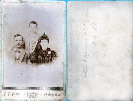 Albert Marshall Family